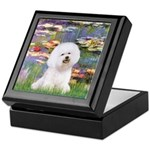 Llies & Bichon Keepsake Box