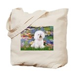 Llies & Bichon Tote Bag