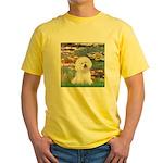 Llies & Bichon Yellow T-Shirt
