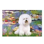 Llies & Bichon Postcards (Package of 8)
