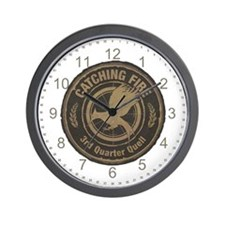 Catching Fire 3rd Quarter Quell Wall Clock