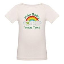 Personalized St Patricks Irish Baby T-Shirt