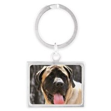 English Mastiff Dog Landscape Keychain