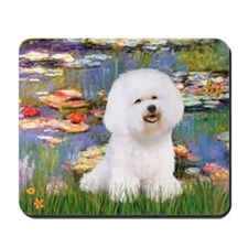 Llies & Bichon Mousepad