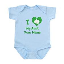I Heart My Aunt (Shamrock) Body Suit