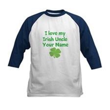 I Love My Irish Uncle Baseball Jersey