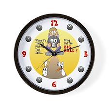 Cute Bowl Wall Clock