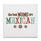 Mexican Moms Tile Coaster