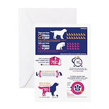 Spay Neuter Infograph Greeting Card