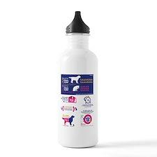 Spay Neuter Infograph Water Bottle