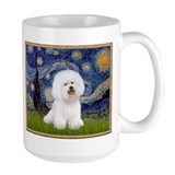 Starry Night Bichon Mug
