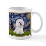 Starry Night Bichon Mug
