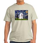 Starry Night Bichon Light T-Shirt