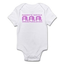 DADDY'S WITTLE WEEPUBLICAN Infant Bodysuit