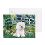 Bridge & Bichon Greeting Cards (Pk of 10)