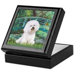 Bridge & Bichon Keepsake Box
