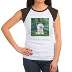 Bridge & Bichon Women's Cap Sleeve T-Shirt