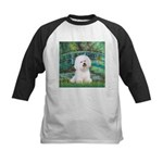 Bridge & Bichon Kids Baseball Jersey