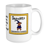 Dogwarts Obedience School (Brown Dog) Mug