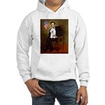 Lincoln & his Bichon Hooded Sweatshirt
