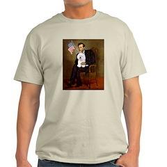 Lincoln & his Bichon Light T-Shirt