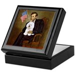 Lincoln & his Bichon Keepsake Box