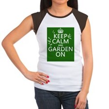 Keep Calm and Garden On Tee