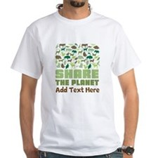 Personalized Environment Share the Planet T-Shirt