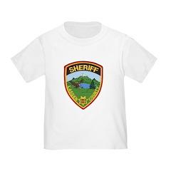 Lassen County Sheriff Toddler T-Shirt