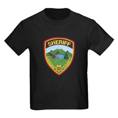 Lassen County Sheriff Kids Dark T-Shirt