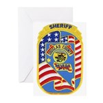 Douglas County Sheriff Greeting Cards (Package of