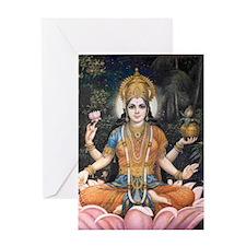 817lakshmi Greeting Card