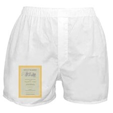 4-bicycle-built-for-two_yellow Boxer Shorts