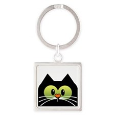 Im a Cat rescuer and I love it new Square Keychain