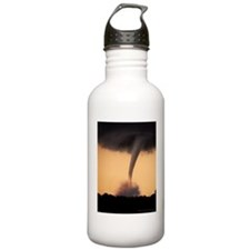 Violent Kansas Tornado Water Bottle
