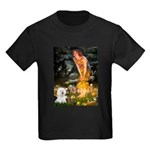 Fairies & Bichon Kids Dark T-Shirt