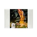 Fairies & Bichon Rectangle Magnet (10 pack)