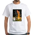 Fairies & Bichon White T-Shirt