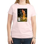 Fairies & Bichon Women's Light T-Shirt