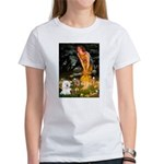 Fairies & Bichon Women's T-Shirt