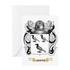 Jantz Coat of Arms (Family Crest) Greeting Card