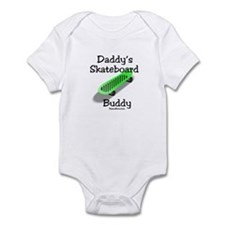 Daddy's Skateboard Buddy Infant Bodysuit