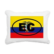 Ecuador EC Rectangular Canvas Pillow