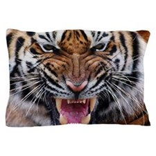 Big Cat Tiger Roar Pillow Case