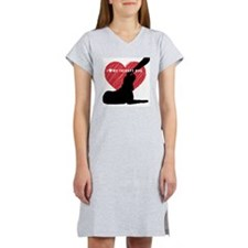 I love my therapy dog Women's Nightshirt