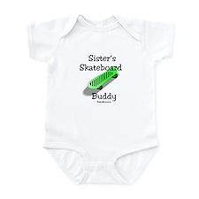 Sister's Skateboard Buddy Infant Bodysuit