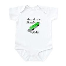 Grandma's Skateboard Buddy Infant Bodysuit