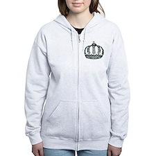 Royal Tiara Zip Hoodie