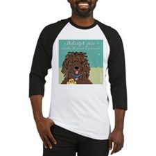 Adopt an Irish Water Spaniel Baseball Jersey