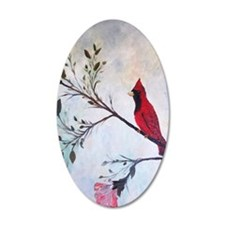 Sweet Red Cardinal Wall Decal